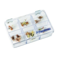 Коробка Рыболовная Пласт. Flambeau 6206Cl Foam Fly Box Medium