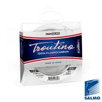 Леска Монофильная Team Salmo Fluorocarbon Troutino Soft 150/018