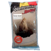 Прикормка Зимняя Сухая Mondial-F Wintermix Roach Black Fluo 1Кг