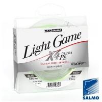 Леска Плетеная Team Salmo Light Game Fine Green X4 100/0064