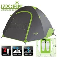 Палатка Алюминиевые Дуги 2-Х Местная Norfin Smelt 2 Nf