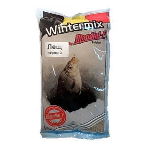 фото - Прикормка Зимняя Сухая Mondial-F Wintermix Bream Black 1Кг