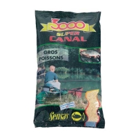 Прикормка Sensas 3000 Super Canal Big Fish 1Кг