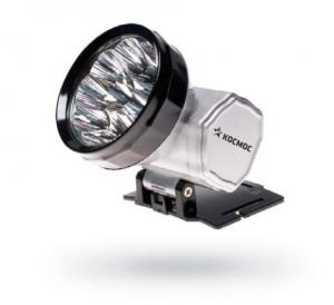 фото - Налобный аккумуляторный светодиодный фонарь Космос