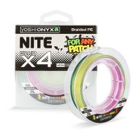 Леска плетеная Yoshi Onyx NITE 4 Multicolor 150m, #1.0