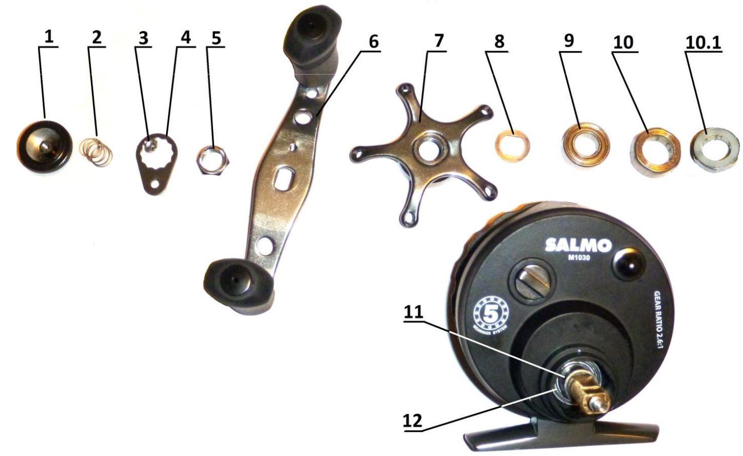Мультипликаторная катушка инструкция