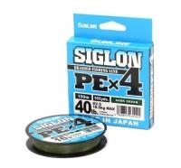 Леска Плетеная Sunline Siglon PE X4 150м 0.3 dark green
