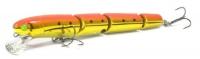 Воблер Westin Jatte Multi Jointed, 115 мм, 14 гр, плавающий, Chopper GFR