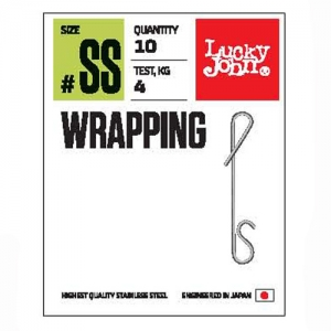 фото - Безузловые застёжки Lj Pro Series Wrapping 002S 08Кг 8Шт.