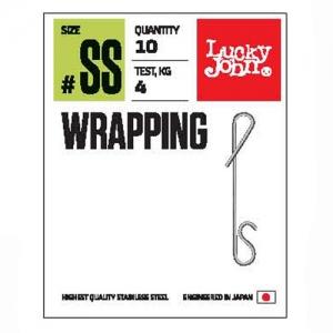 фото - Безузловые застёжки Lj Pro Series Wrapping 001Ss 04Кг 8Шт.