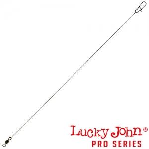 фото - Поводки Стальные Lj Pro Series Micro Jig оснащенные вертлюгом и застежкой Нахлыстовый 2.8Кг 25См, 1Х19