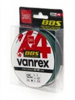 Леска плетёная Lucky John Vanrex BBS х4 BRAID Moss Green 125/037