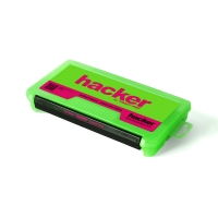 Коробка универсальная для аксессуаров Hacker 230 мм, зеленая