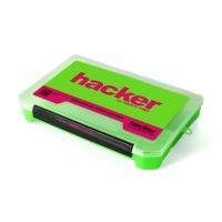 Коробка универсальная для аксессуаров Hacker 270 мм, зеленая