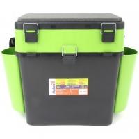 Ящик зимний Helios - FISHBOX, 19л, зелёный