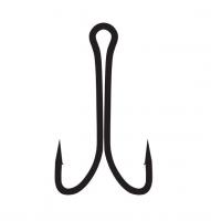 Крючок двойник Kumho Short Double Hook BN №4