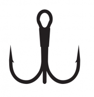 Крючок тройник Kumho Treble Hook BN №4