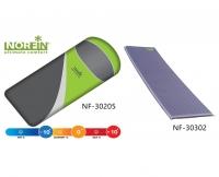Комплект Norfin: спальный мешок-одеяло SCANDIC COMFORT и самонадувающийся коврик ATLANTIC