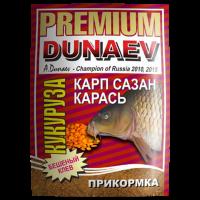 ПРИКОРМКА DUNAEV PREMIUM Карп-Сазан Кукуруза 1 кг