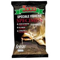 Прикормка Sensas 3000 Spicemen Fishmeal 1Кг