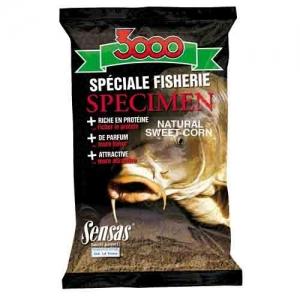 фото - Прикормка Sensas 3000 Spicemen Sweet Corn 1Кг