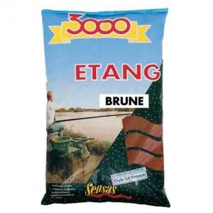 фото - Прикормка Sensas 3000 Etang Brune 1Кг