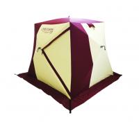 Палатка трехместная утепленная в форме куба Снегирь 3Т