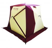 Палатка четырехместная утепленная в форме куба Снегирь 4Т