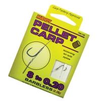 Крючки С Поводком MIDDY Pellet Carp n.8 0.20mm