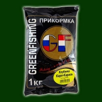 Прикормка Gf Карп/карась Клубника 1Кг