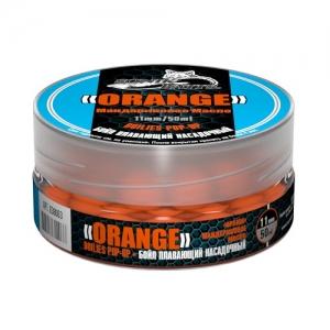фото - Бойлы Плавающие Sonik Baits Orange Fluo Pop-Ups 11Мм 50Мл (Оранж Мандариновое Масло)