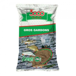 фото - Прикормка Sensas 3000 Club Gros Gardon 1Кг