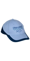 Бейсболка CRALUSSO Cap light blue