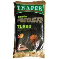 Прикормка TRAPER серия Feeder Turbo (карп, линь, карась), 1кг