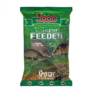 фото - Прикормка Sensas 3000 Super Feeder River 1Кг
