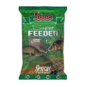 фото - Прикормка Sensas 3000 Super Feeder Carp 1Кг