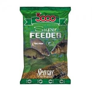фото - Прикормка Sensas 3000 Super Feeder Big Fish 1Кг