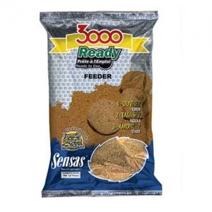 фото - Прикормка Sensas 3000 Ready Feeder 1Кг
