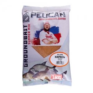 фото - Прикормка Pelican Карась Чеснок 1Кг