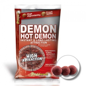 фото - Бойли Тонущие Starbaits Performance Concept Hot Demon Long Life Boilies 14Мм 2,5Кг