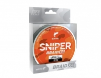 Леска Плетёная Salmo Sniper Braid Army Green 091/016