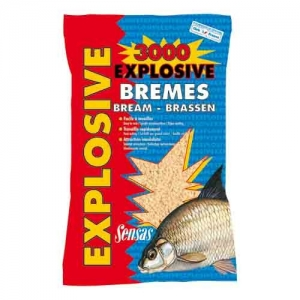 фото - Прикормка Sensas 3000 Explosive Bremes 1Кг
