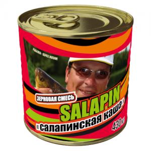 фото - Добавка Зерновой Микс Салапинская Каша 0.43Л