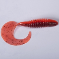 Твистеры Съедобные Искусственные Lj Pro Series Crusher Grub 4,5In(11,40)/t48 4Шт.