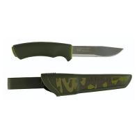 Нож Универсальный В Пластиковых Ножнах Morakniv Bushcraft Forest Camo