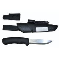 Нож Универсальный В Пластиковых Ножнах Morakniv Bushcraft Survival