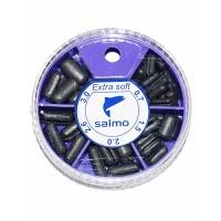 Грузила Salmo EXTRA SOFT малый 5 секц. 0,7-3,0г 060г набор 3