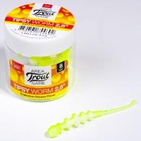 Слаги съедобные искусственные Lj Pro Series Tipsy Worm 2,8In (07.12)/t75 8Шт.