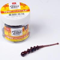 Слаги съедобные искусственные Lj Pro Series Tipsy Worm 2,8In (07.12)/t77 8Шт.
