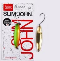 Блесна Колеб. Lucky John Slim John Длин.37Мм/02.5Г 020